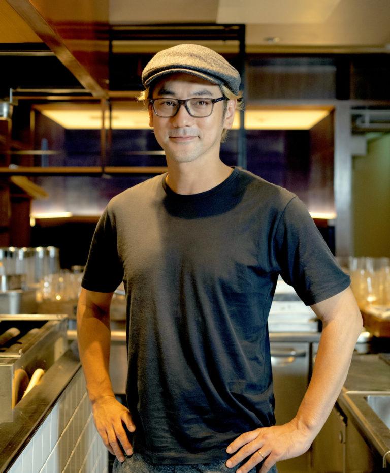 6年連続ミシュラン掲載店〈ラ・パスタイオーネ〉の元オーナー・篠原正樹さん。同店ではパスタ料理を提供。