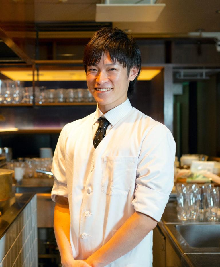 〈会員制 寿司割烹鷹勝 銀座本店〉の板長・橋本竣汰さん。同店では和食を提供(2020年内は日曜のみ)。