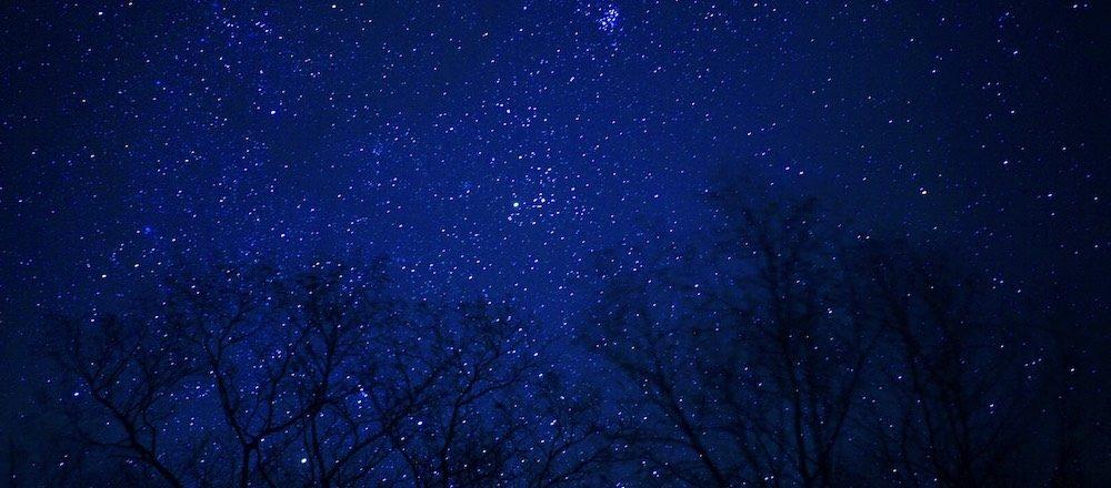 蔦温泉 星浴