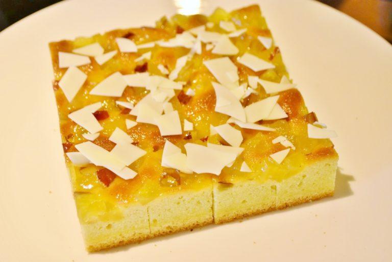 「さつま芋のケーキ」。