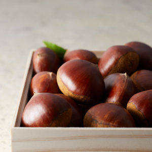 日本一の大きさと風味高さ・甘さが特徴の「能勢栗」を使用。