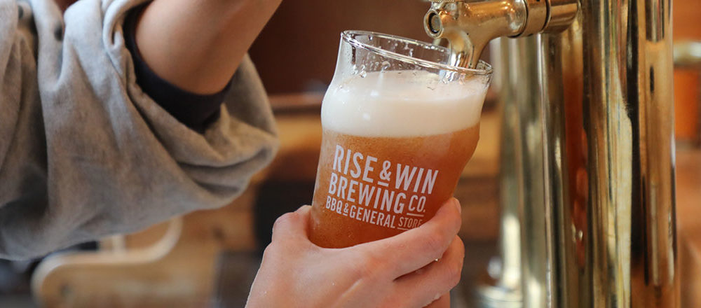 RISE & WIN Brewing Co.  BBQ & General Store
