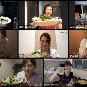 今年6月から開催しているオンラインイベント「ハナコラボミーティングオンライン」。細川芙美さんによるグリーンカレー作りなど、学べるコンテンツが満載です。