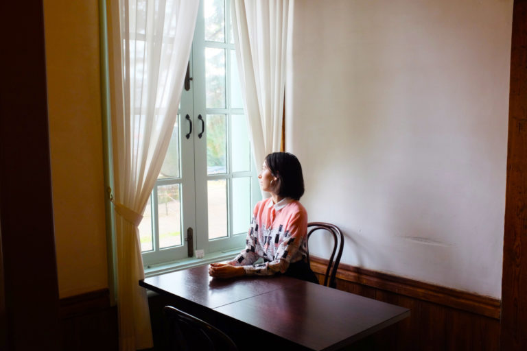 島根 亀田山喫茶室