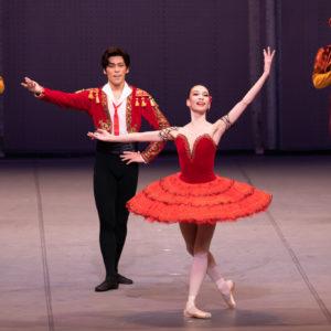 カーテンコールの写真はバレエ団からの提供です。 ©️Shoko Matsuhashi
