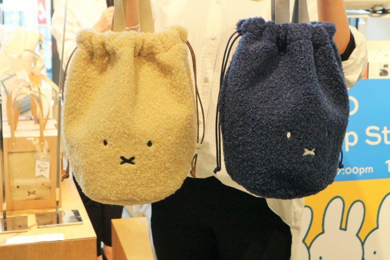「Pinkoi × miffy ふわふわ バッグ」。