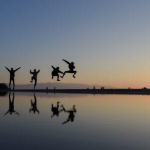 南米まで行かなくても、四国でこんな写真が撮れちゃうなんて。(Photo by CHEBI)
