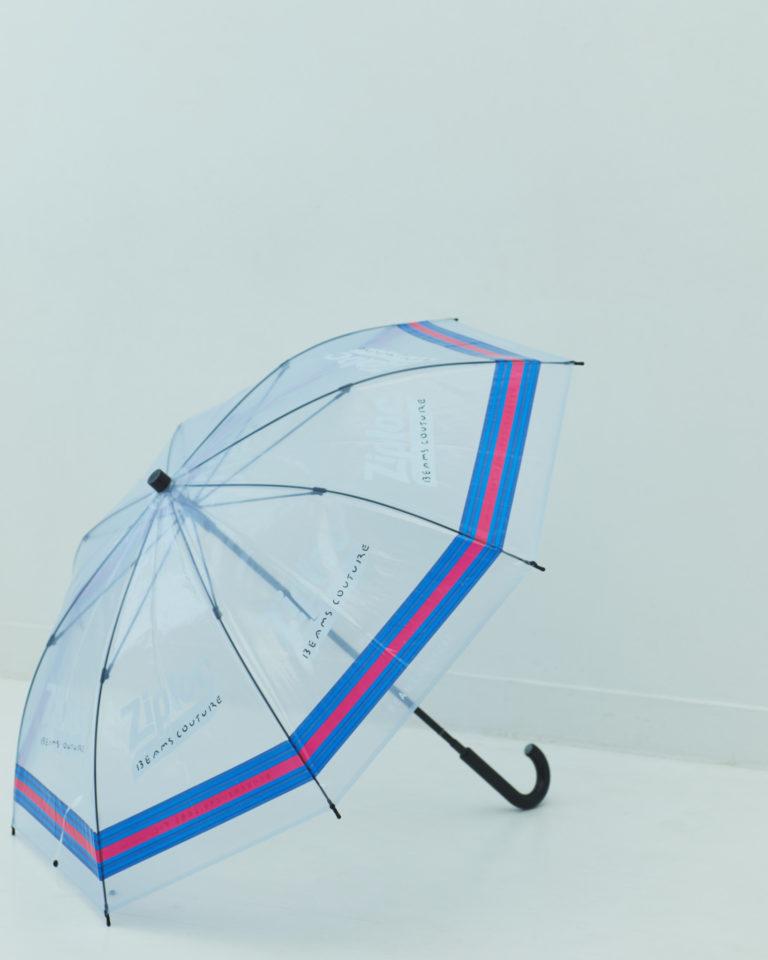 〈BEAMS COUTURE〉のZiploc RECYCLE PROGRAMの傘