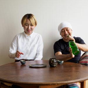 『伊藤家の晩酌』~第十九夜1本目/良い水、良い米で造られたまっすぐな「萩の鶴 手造り 純米酒」~