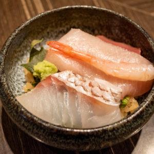 贅沢海鮮丼。