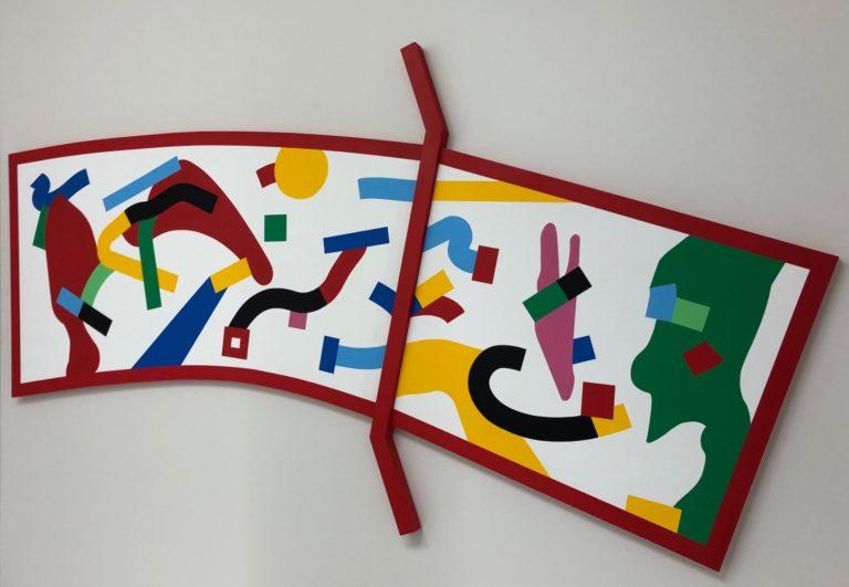 作品名「BRIDGE」by JUNO MIZOBUCHI。