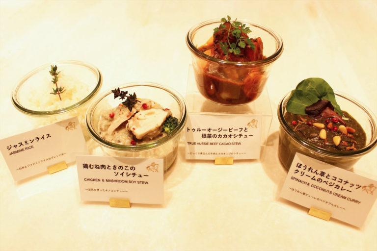〈GODIVA café Tokyo〉のフードメニュー。価格は500円~600円台が中心。