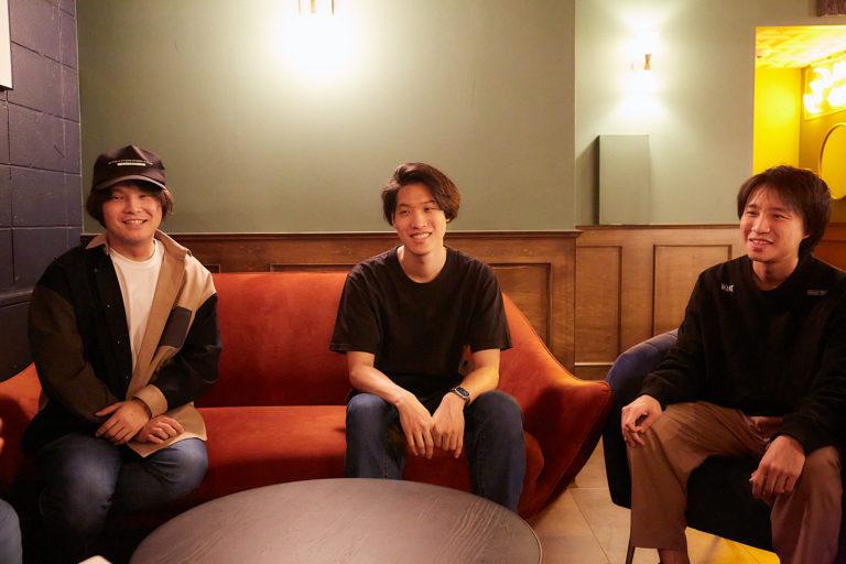 左から明円さん、吉田さん、大槻さん。