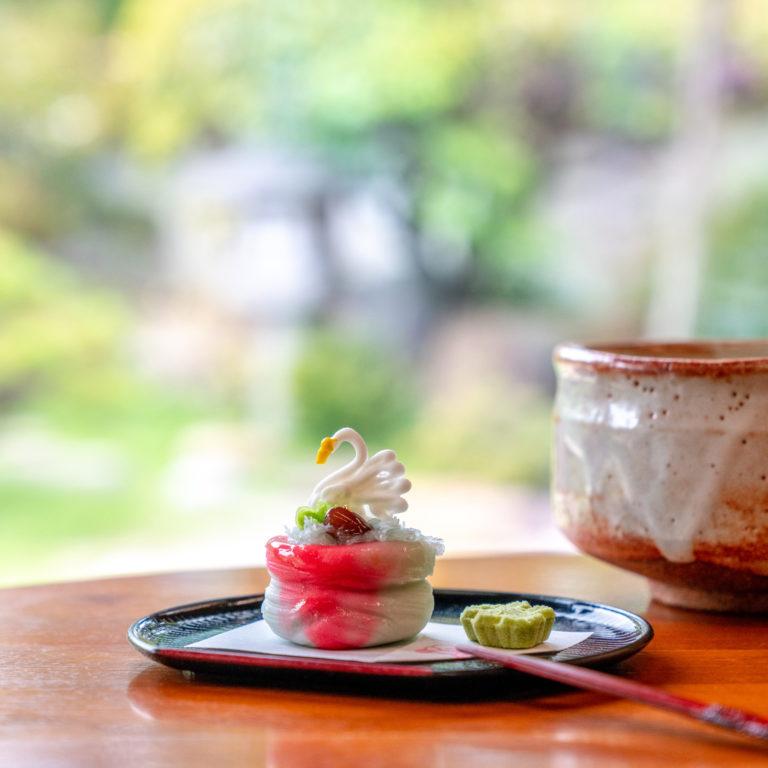 #黄綬褒章受章の名工職人による手作り上生菓子 #松江歴史館