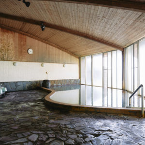 内風呂も充実した広さ。