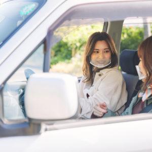 運転は佐久間さんが担当。
