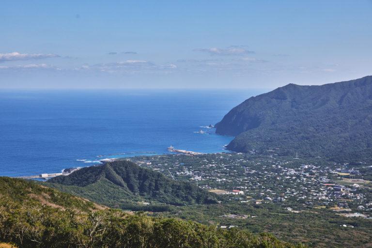 展望台からは太平洋が見渡せます。