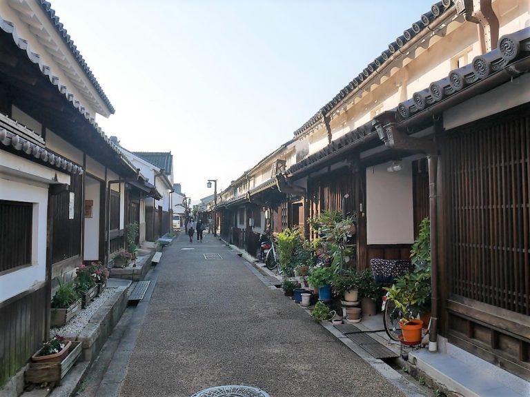 散策が楽しい今井町。