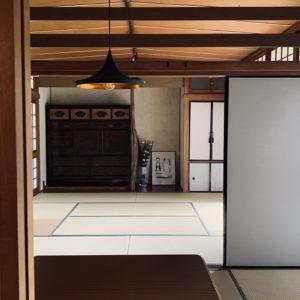 和室もちゃんと残されています。落ち着きそう。