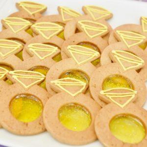 「特別な日のジンジャーリングクッキー」。