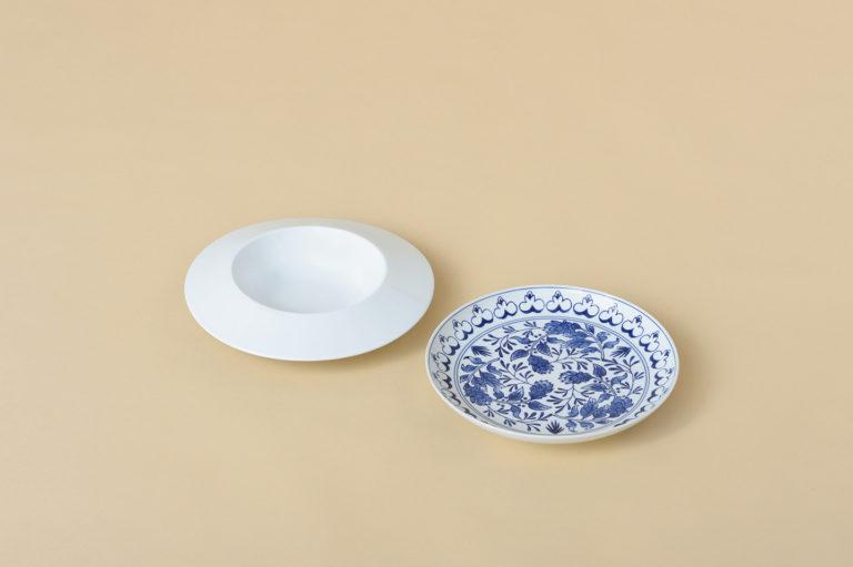 〈zen to〉のカレー皿