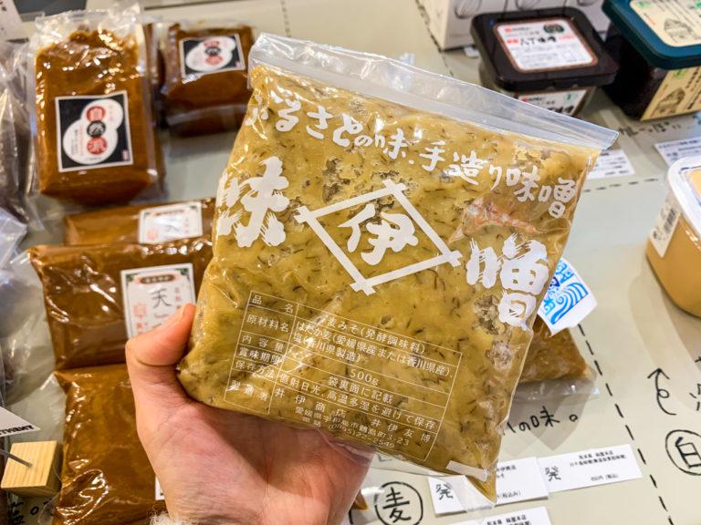 井伊商店の「麦みそ」640円(税込)。