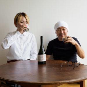 杉樽の香りと酸味でワインっぽさも感じる。