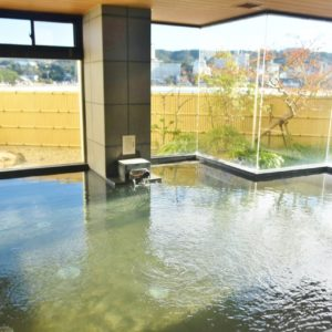 「松風」の内風呂。