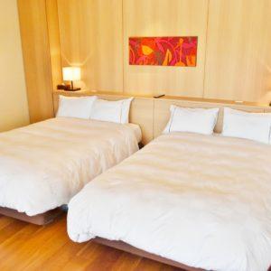 ベッドのお部屋もとてもよさそう。