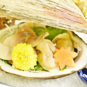 北海道は貝もおいしい。