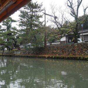 松江市の「伝統美観地区」に指定されている塩見縄手。