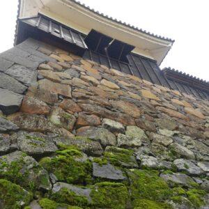 上にある櫓は、中から見ることも。