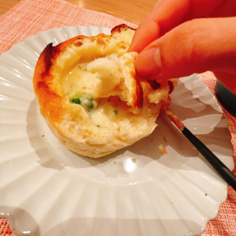 〈ロバ菓子司〉の「チーズフォンデューパン」