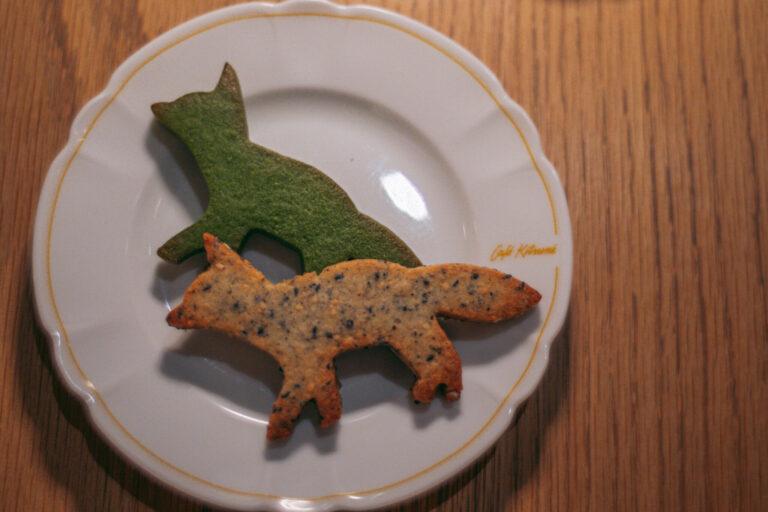 食べるのがもったいないほど可愛い「キツネサブレ」。絶妙なサクサク感がたまりません。