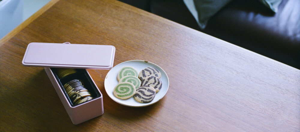 4.〈山本道子の店〉のマーブルクッキー