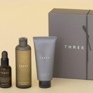 1.〈THREE〉のヘアケアアイテム