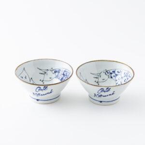 「波佐見焼茶碗」3,200円。