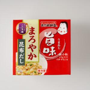 〈タカノフーズ〉のまろやか旨味ミニ3