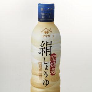 〈ヤマサ醤油〉の絹しょうゆ