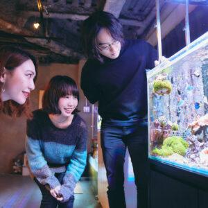 働く女子が考える、サンゴと地球の未来。アクアリウムベンチャー企業〈イノカ 〉のオフィスへ!