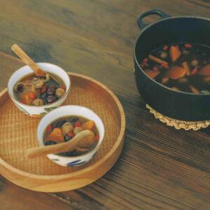 養生紅棗地瓜湯