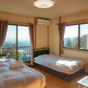 お部屋は全7室。和洋室と和室のタイプから選んで。