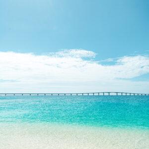 #東洋一と呼ばれる美しさ #来間大橋