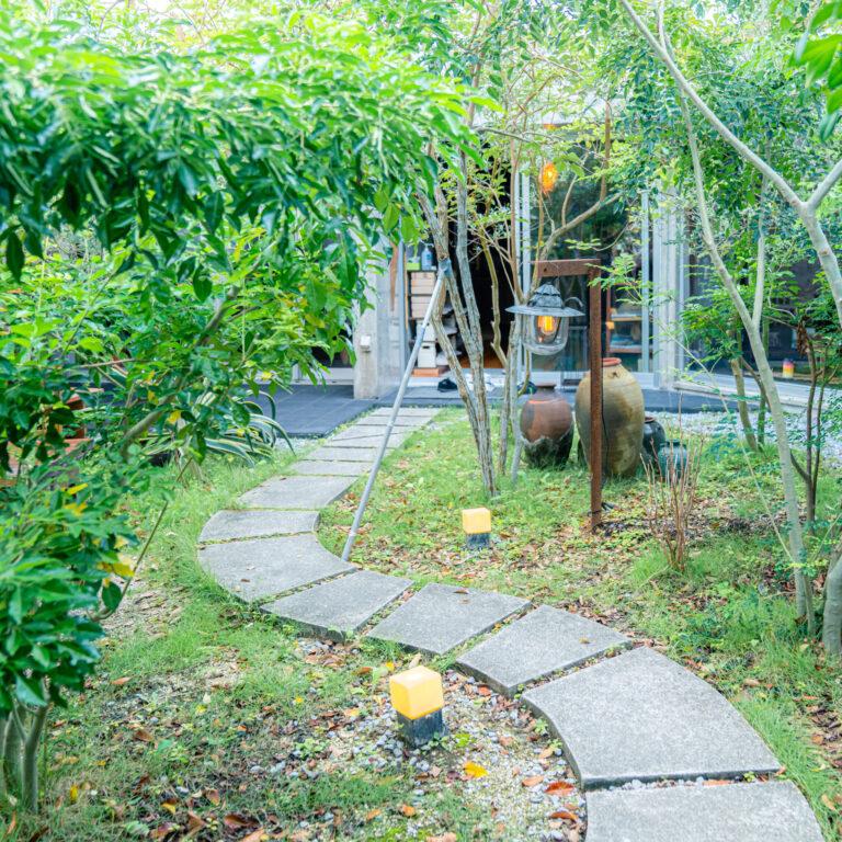 #ウエスヤ #お庭も素敵
