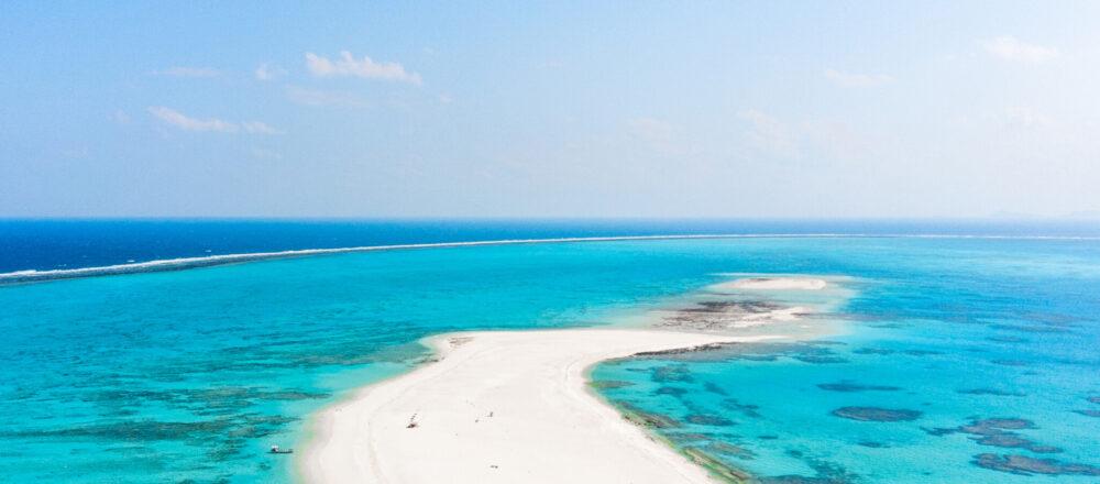 #ハテの浜 #無人島 #どこまでも透明な海をお散歩