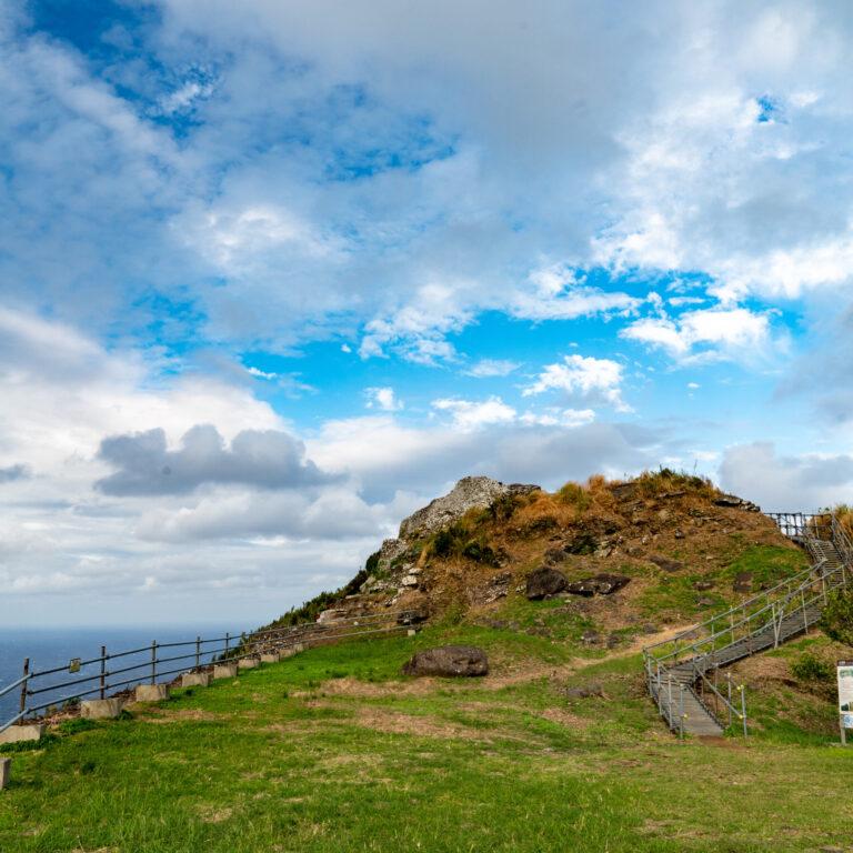 #宇江城城跡 #島を一望する絶景スポット