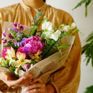 フラワーアーティスト・前田有紀が2020年を振り返る。心に残った花にまつわる4つの大きな体験とは?
