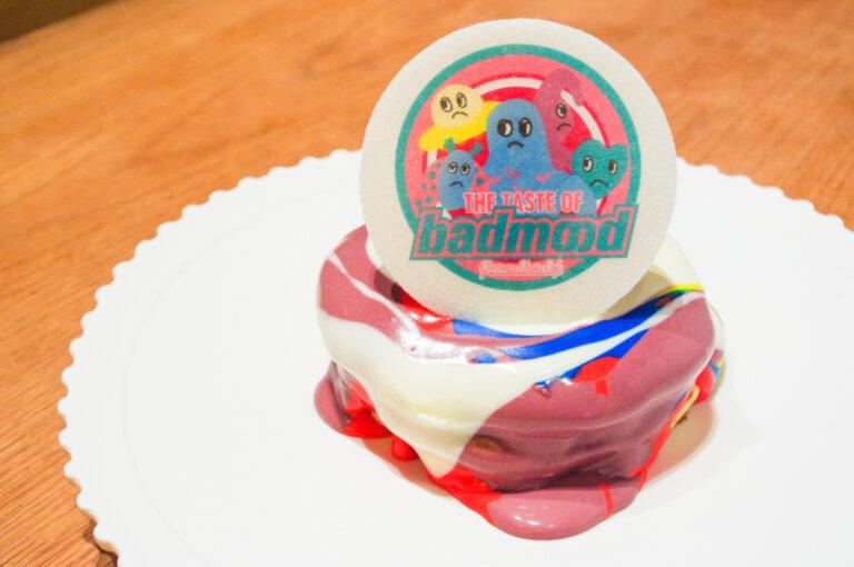 『BAD MOOD』マーブルパンケーキ 1,400円。