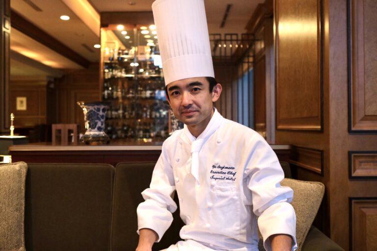ヤニック・アレノ、アラン・デュカスなど世界的な料理人のもとで研鑽を積んだ杉本料理長。