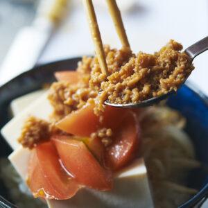 【POINT】豆腐でかさ増し。